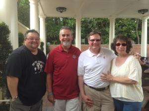 John Donahue, Rick Howard, myself, and Mrs. All in WDW!
