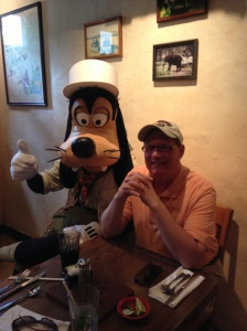 But, Goofy set me straight.  He's the boss!
