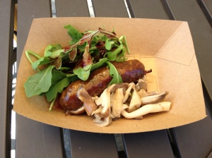 Pre-Festival (Honorable Mention): Venison Sausage (New Zealand)