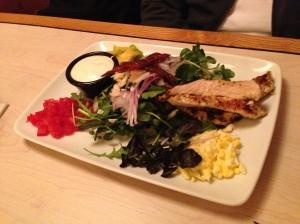 Cobb Salad with Chicken.