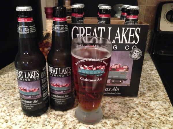 There's nothing like enjoying a GL Christmas Ale and ...