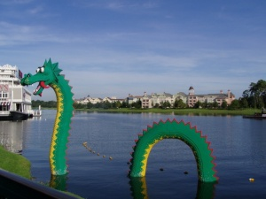A shot from Downtown Disney.