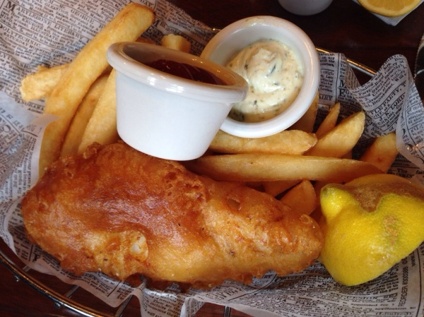 Mmm.  Love those Fish 'n Chips!