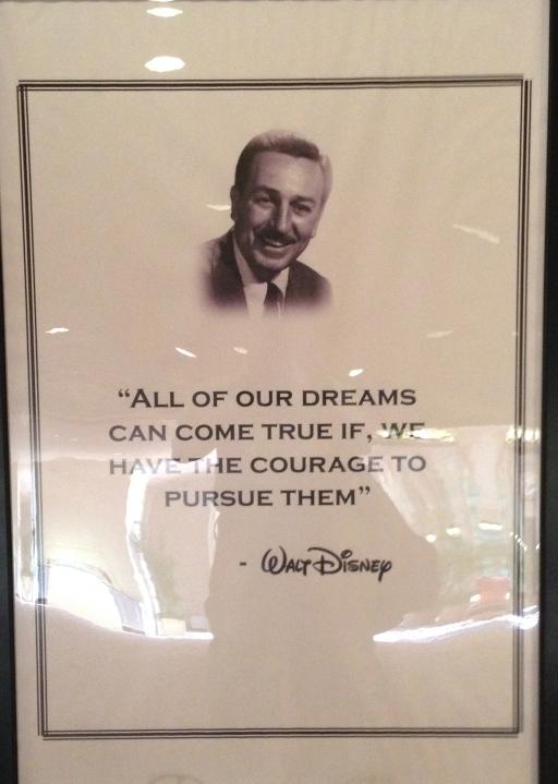 Walt's Words - Dreams