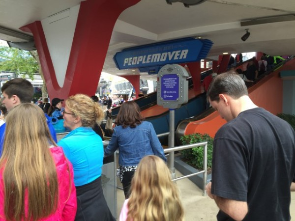 The Tomorrowland Transit Authority PeopleMover!
