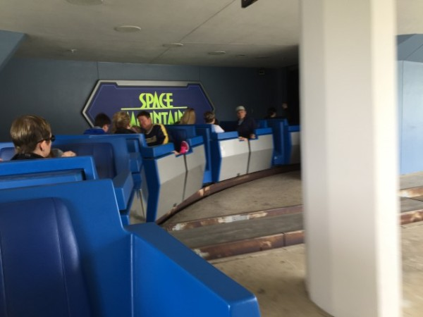 "The ""mover"" takes you into Space Mountain ..."