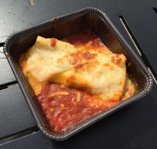 2015's Cheese Manicotti