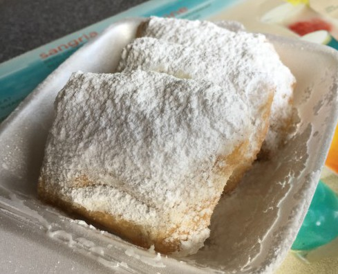"Of course, how could we forget ""dessert""?  Authentic New Orleans Beignets!  Yum!"