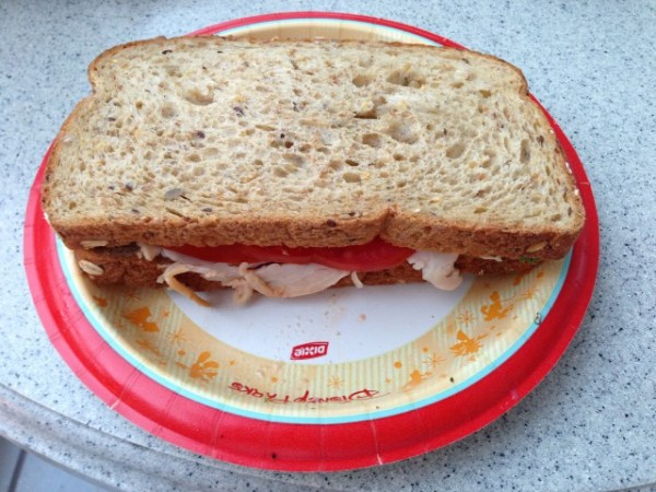 "The Smoked Turkey Sandwich is an ""stand-by"", for us.  A HUGE sandwich."