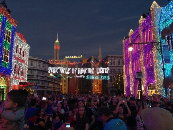 Sadly, we've had to say good-bye to The Osborne Family Spectacle of Dancing Lights as well!