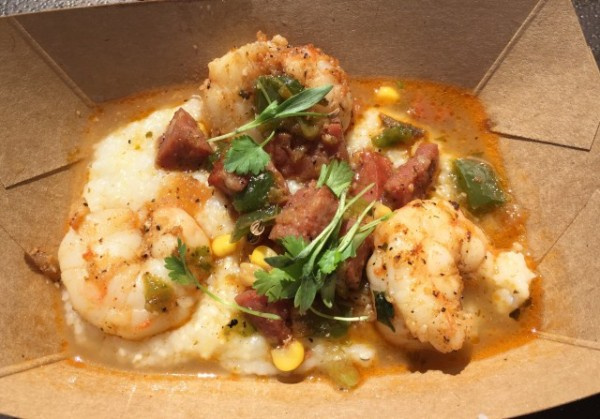 """Food"" & Garden '16 - Florida Fresh's Shrimp and Stone-ground Grits!"