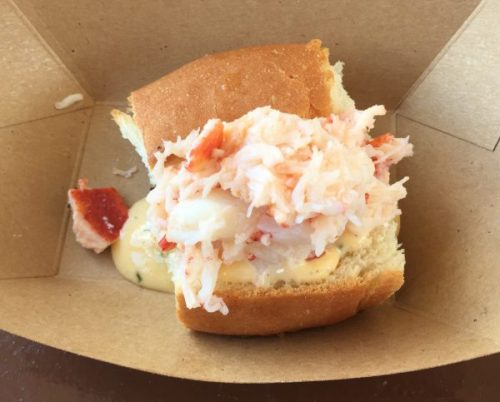 "2016's ""loaded"" Lobster Roll"