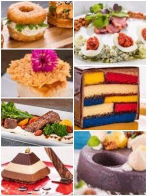 Food & Art Collage